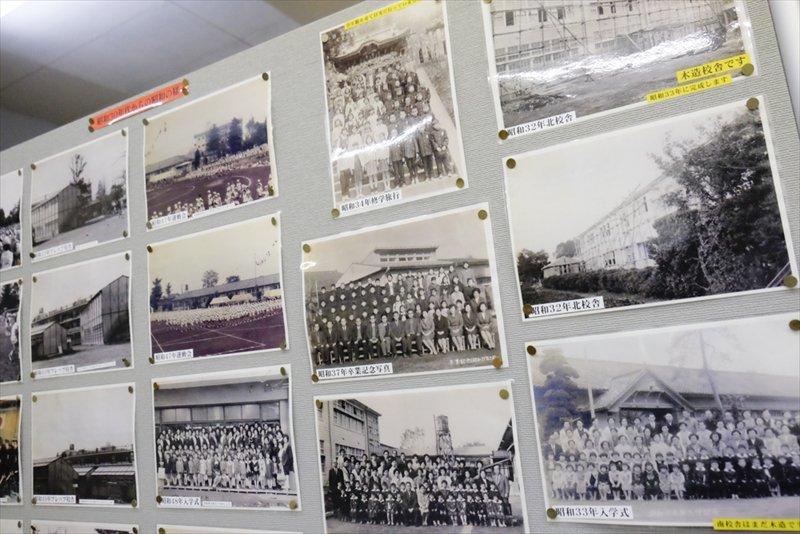 歴史資料室の展示
