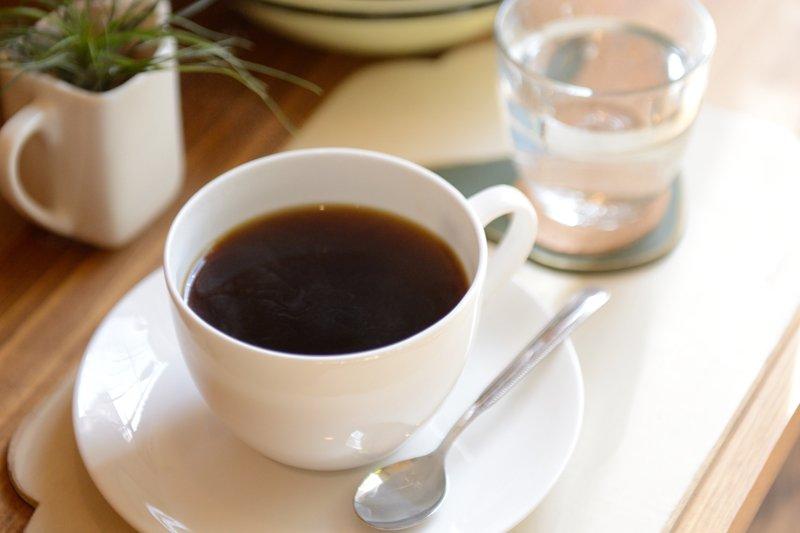 カフェメニューのコーヒー