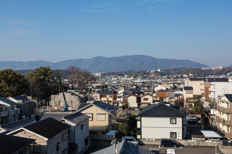 西京極の街並み