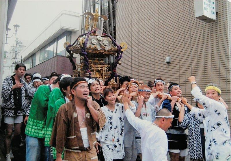 富塚八幡宮例大祭