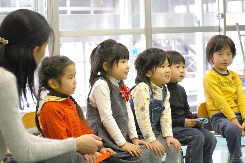 子どものための音楽教室の様子