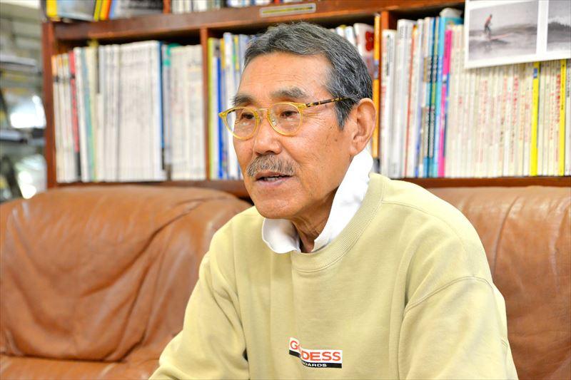 日本のサーフィン文化の先駆者・「ゴッデス」鈴木正さん