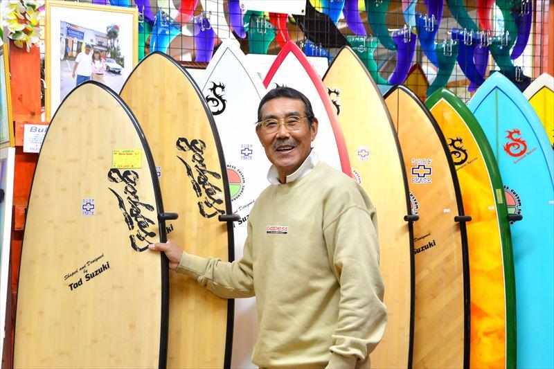 鈴木さんは、何よりも自分自身が徹底的に楽しむことでサーフィンの面白さを伝え続けている