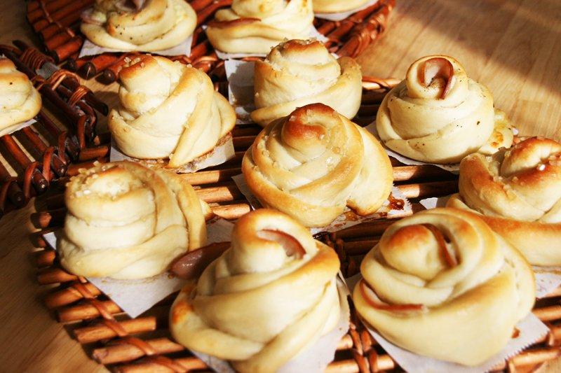 目で見て楽しめる手作りパン