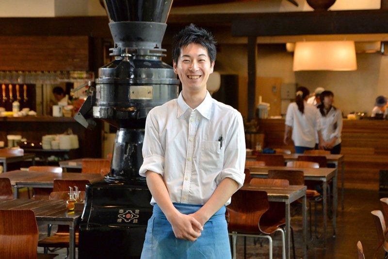 「MOKICHI FOODS GARDEN」ホールチーフ・石井直樹さん