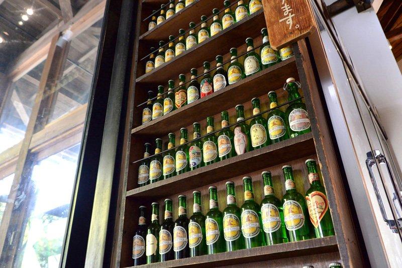 「熊澤酒造」こだわりの日本酒やビールも合わせて味わいたい。