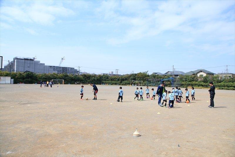 磯辺FC インタビュー 広々としたグラウンド