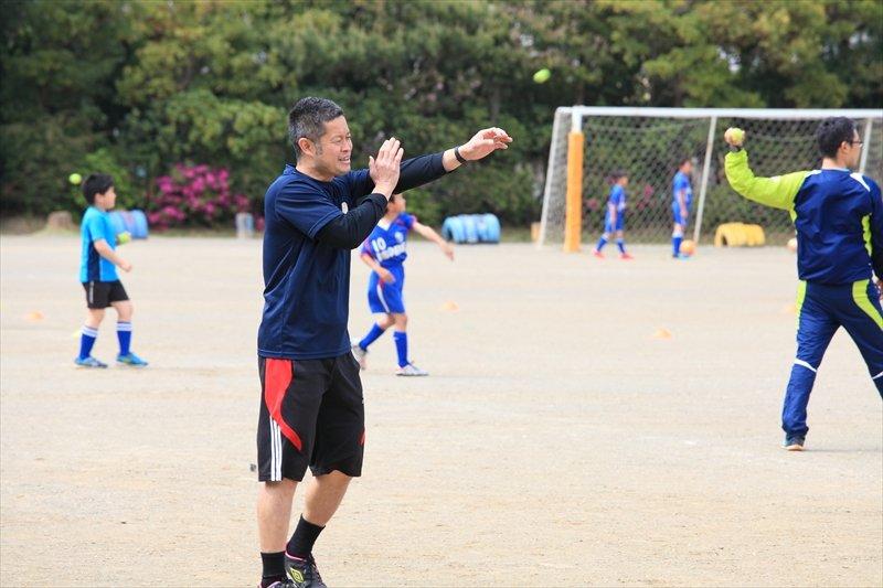 磯辺FC インタビュー テニスボールを使った練習