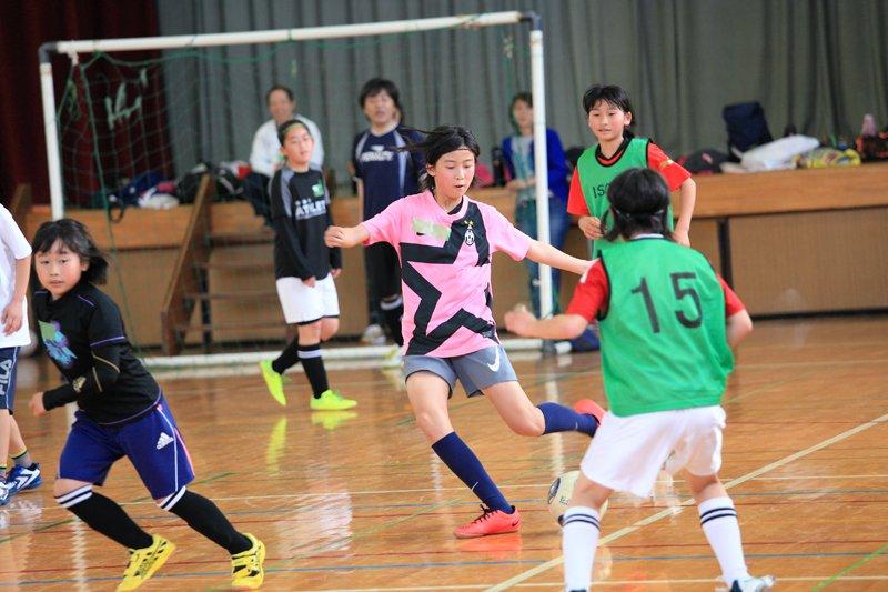 磯辺FC インタビュー 体育館練習の様子2