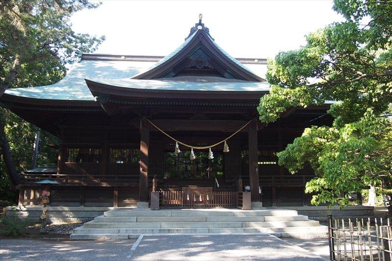 1930(昭和5)年に竣工し、今に残る木造の社殿
