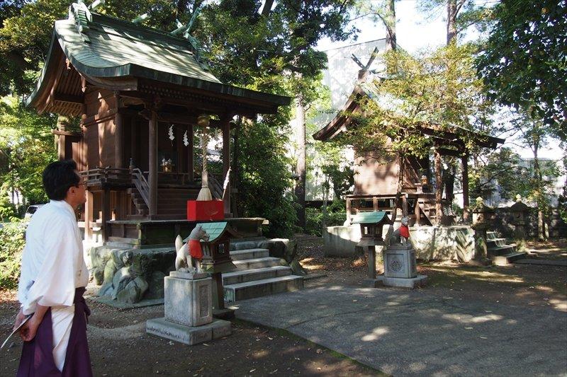 浜松八幡宮境内には、徳川家康公を祀る東照宮も奉斎