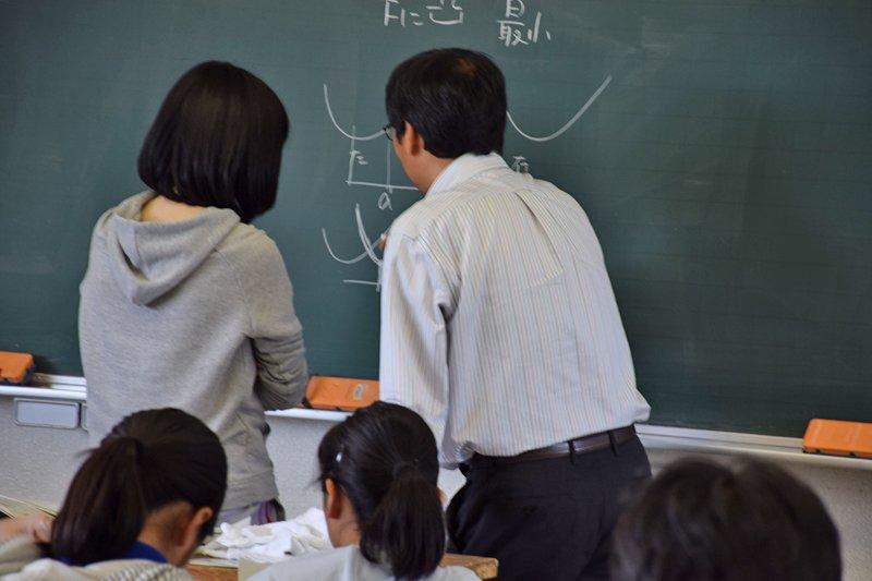 生徒自身で考える授業を目指す