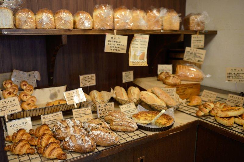 一番人気は食パン