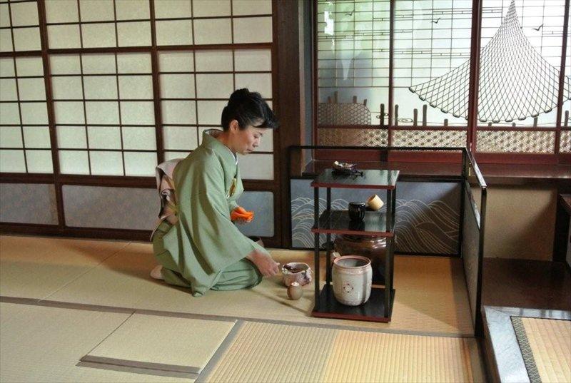 日本の伝統文化である茶道を学べるイベントも開催