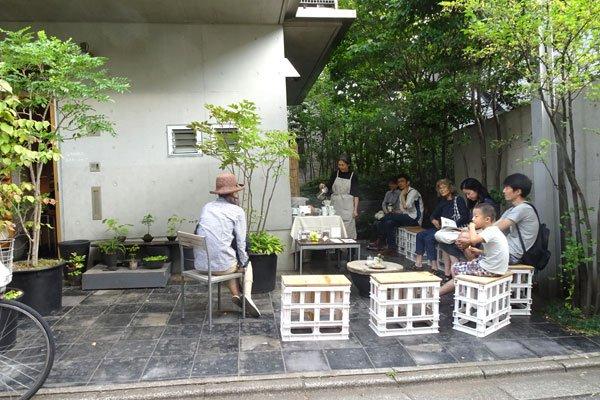 「10月の庭」の様子