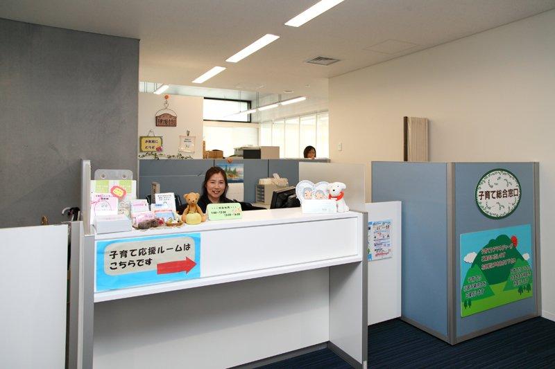 「浦安市役所」内の子育て総合窓口