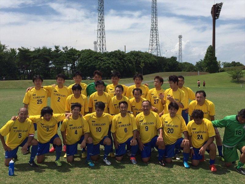 小野さんが所属するシニアサッカーチーム
