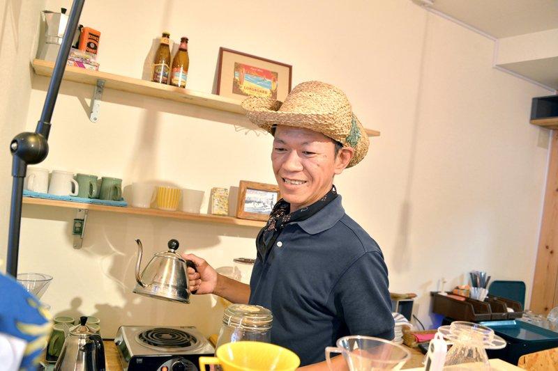 「Holo Holo Cafe(ホロホロカフェ)」 オーナー 飯田さん