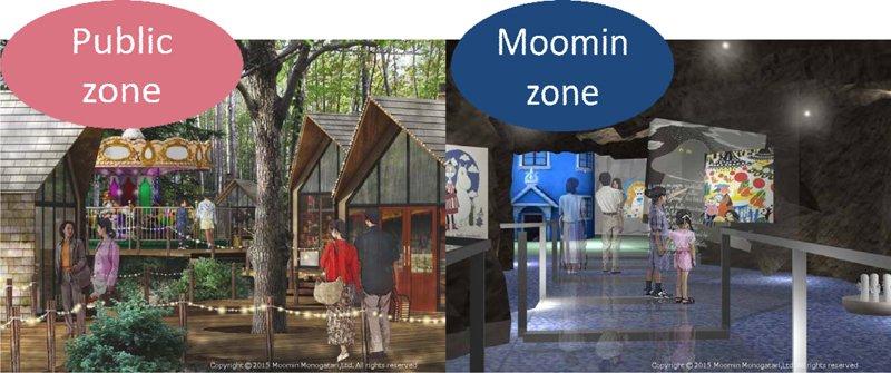 ムーミンの世界観を再現した施設が建設予定