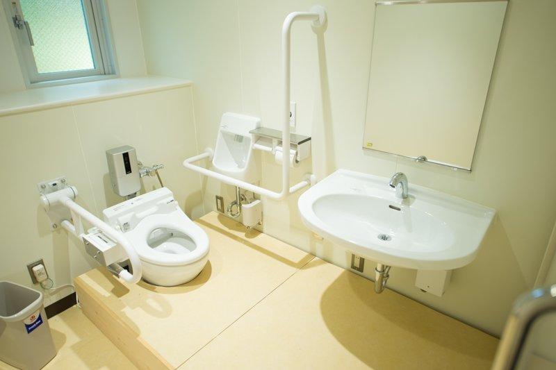 設備の整ったトイレ