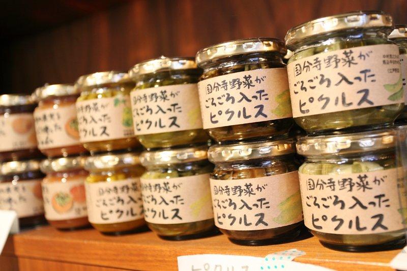 人気の国分寺野菜を使ったピクルス
