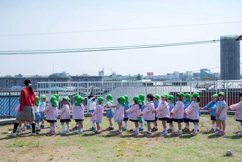 多彩な教育スタイルの「習志野台幼稚園」