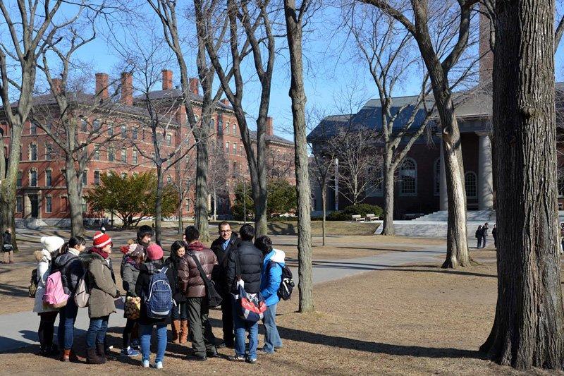 海外交流事業のアメリカ研修