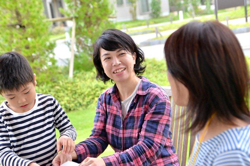 「ままもり」理事の柳澤留美さん