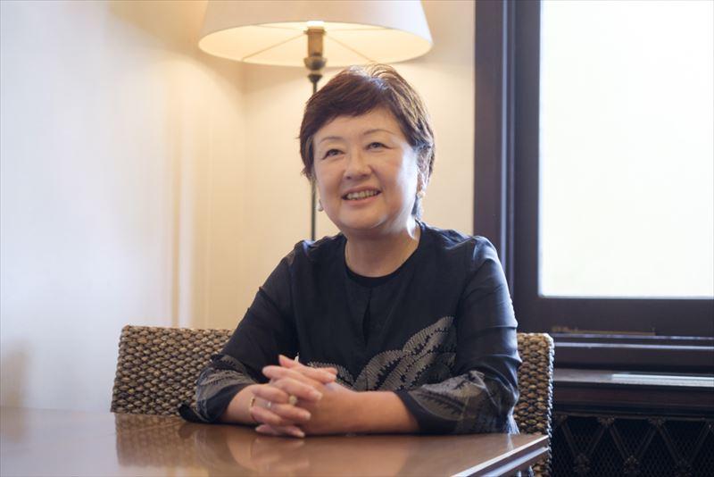 支配人 渡辺美智子さん