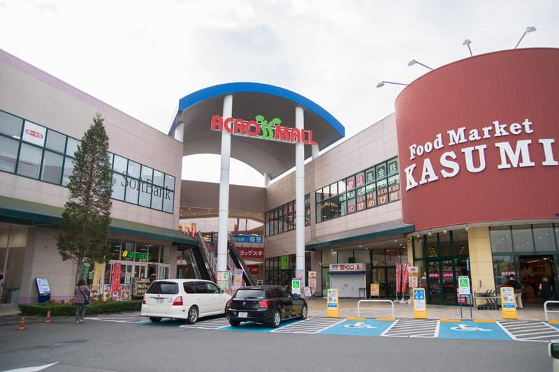 「アクロスモール守谷」などのショッピング施設も充実