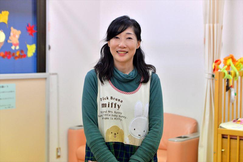 センター長の阿部麻美さん