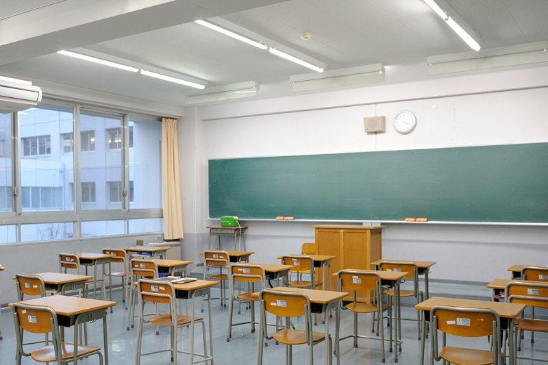 整理整頓された教室