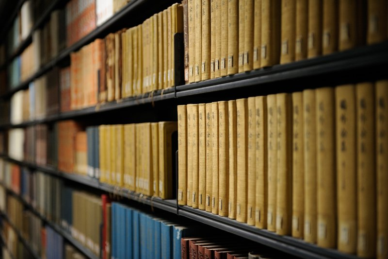 6万冊以上の蔵書数を誇る図書館
