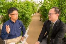 まるでカフェ?新しいモデルハウスの「花と緑のある癒しの生活提案」の魅力に迫る!/社団法人日本インドア・グリーン協会 代表取締役 長島茂夫さん