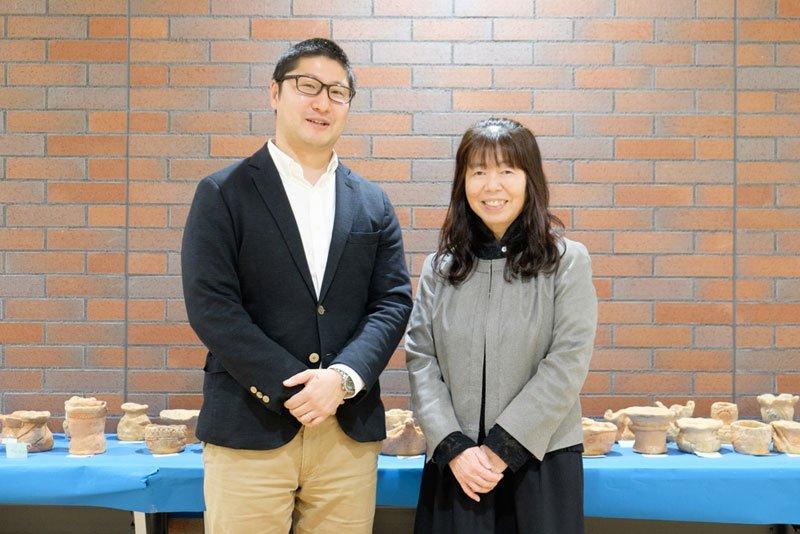 桐朋学園小学校 有馬先生と磯部先生