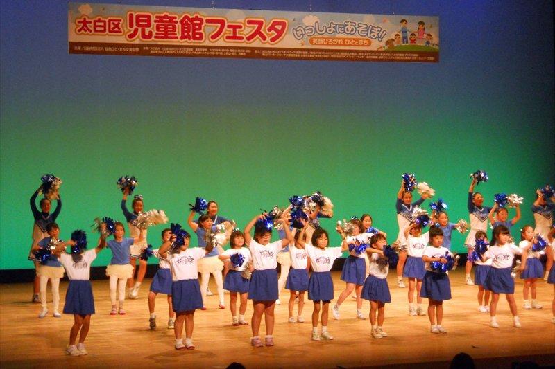 「楽楽楽ホール」でのステージ発表