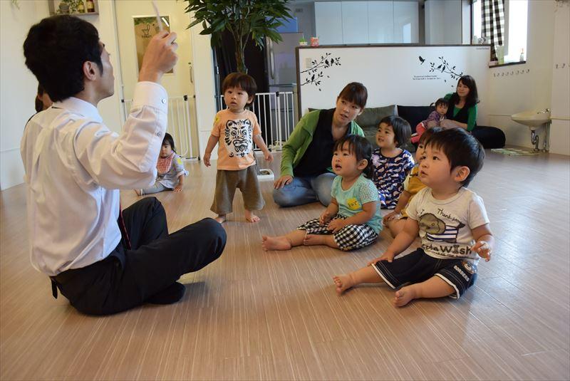 標準カリキュラムの中に含まれる幼児英会話