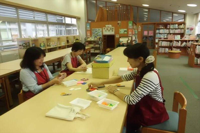 学校を支える図書館ボランティアの存在