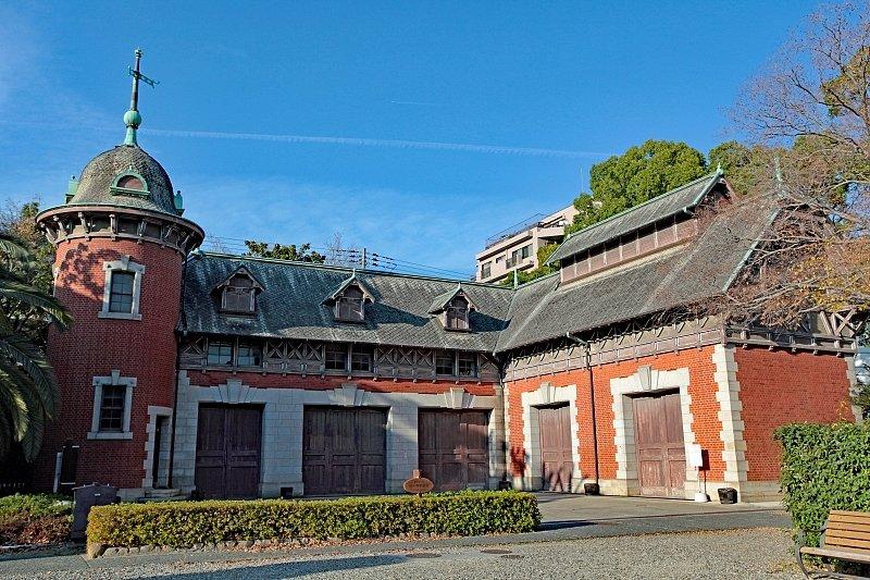 建築当時の姿をそのまま残す「旧小寺家厩舎」
