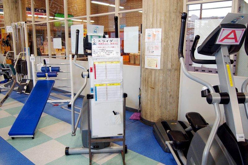 リーズナブルな料金で利用できるトレーニング室