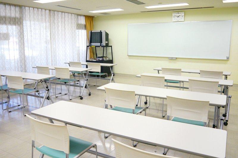 各種サークル活動に利用できる研修室