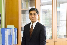 小金井市立緑中学校/校長 神田正美先生