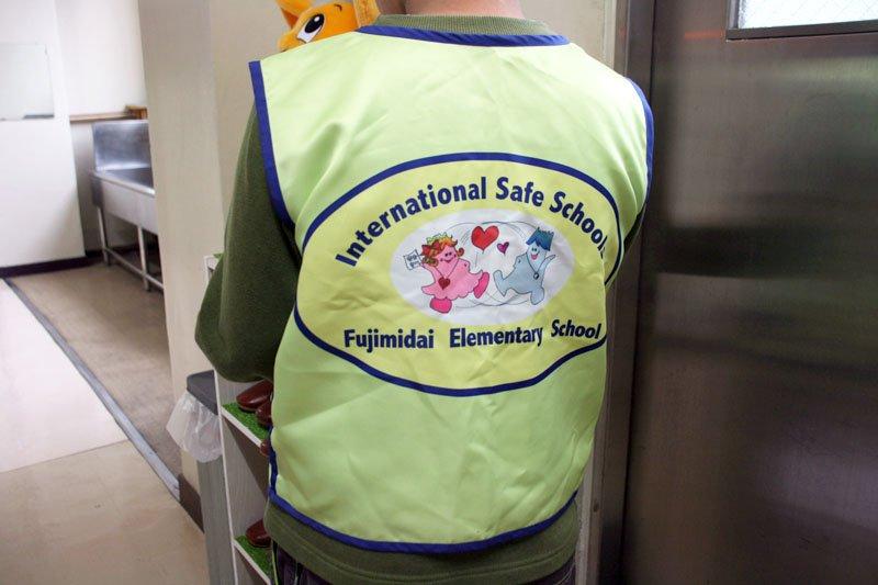 運動委員会のISSジャケット
