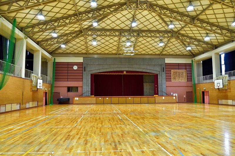 広々とした体育館