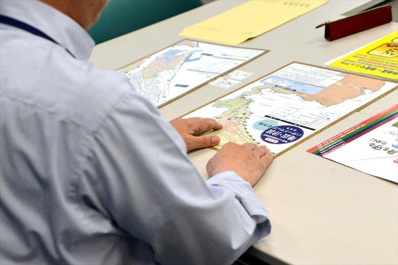 ハザードマップは市のホームページからも閲覧できる