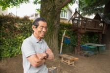 大きな木々に囲まれた園舎で人間形成の「根っこ」を育てる/清心幼稚園 園長 清水進先生