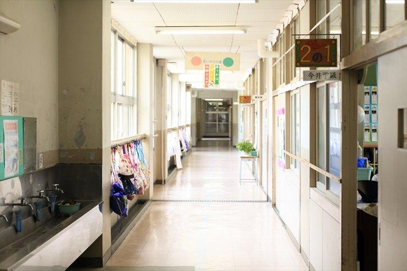 校内の風景