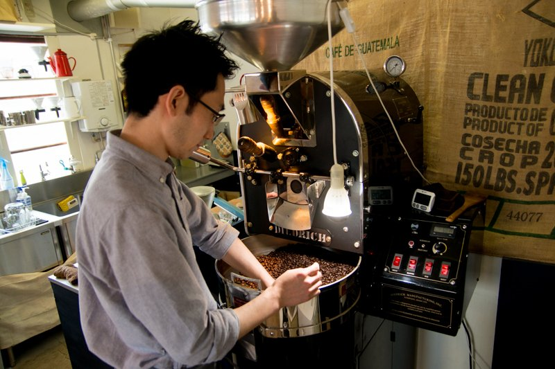 コーヒー教室も開催している