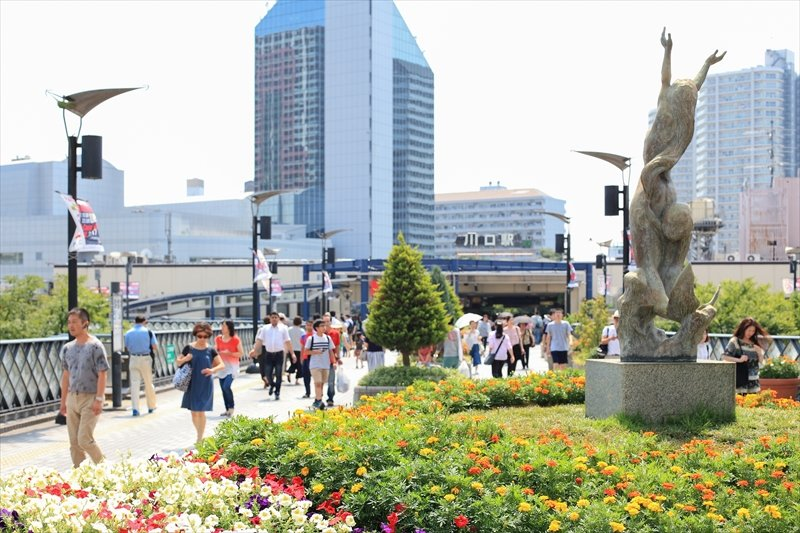 JR「川口」駅東口