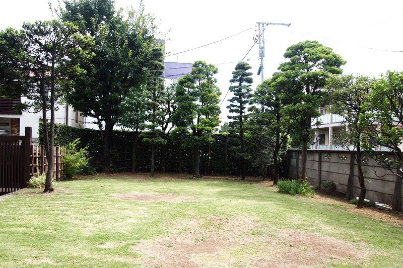 広々としたお庭